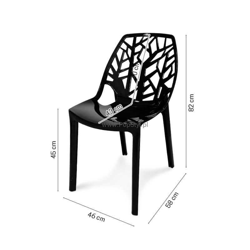 Krzesło Coral Chair Model 210 Połysk