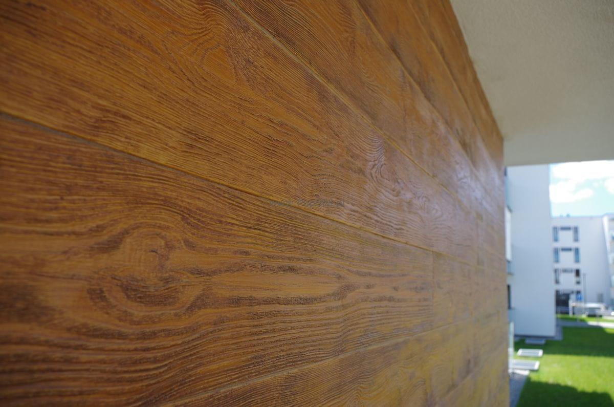Elastyczna Deska Dekoracyjna Imitacja Drewna System 1m2 Klej