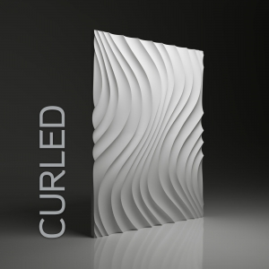 Panel 3D -  Dunes Curled