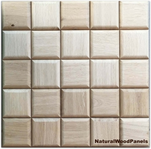 Panel drewniany - CHOCO - Dąb - Natural Wood Panels